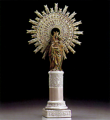 Virgin Of The Pilar (l.e. Lladro Figurine