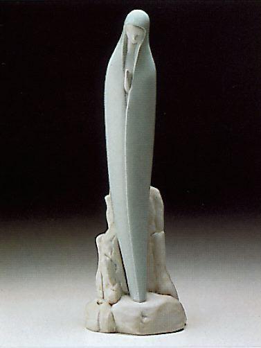 Virgin Lladro Figurine