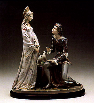 Vows With Base Lladro Figurine