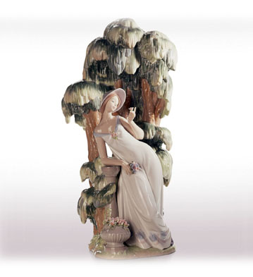Waiting In The Willow Lladro Figurine