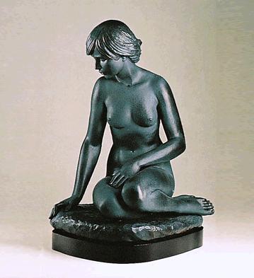 Waiting (l.e.) (b) Lladro Figurine