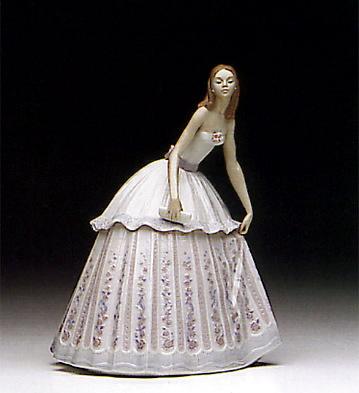 Waiting To Dance Lladro Figurine