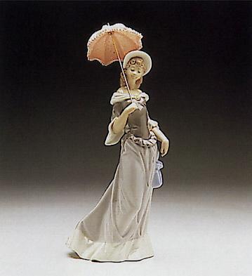 Walking Lladro Figurine