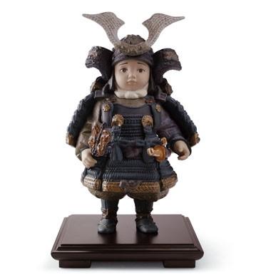 Warrior Boy Lladro Figurine