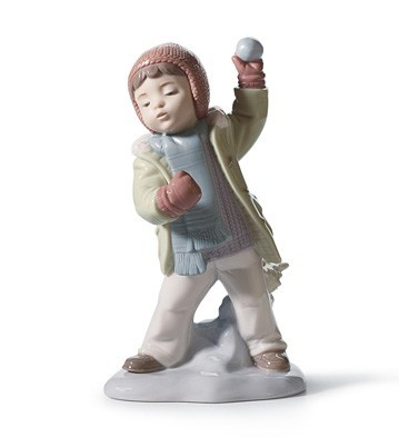 Watch Out, Here It Comes! Lladro Figurine