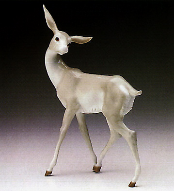 Watchful Gazelle Lladro Figurine