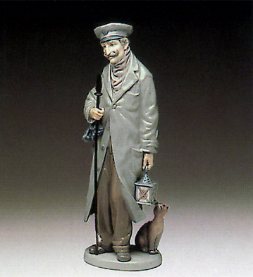 Watchman Lladro Figurine