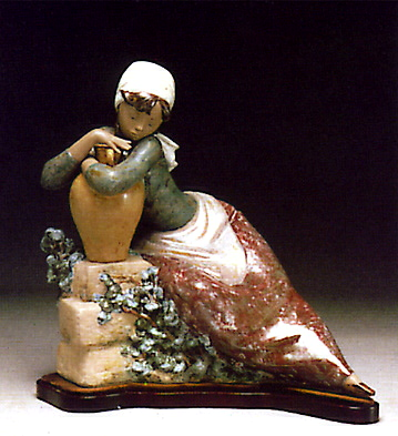 Water Carrier Resting -b- Lladro Figurine