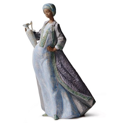Waters Of The Oasis Lladro Figurine