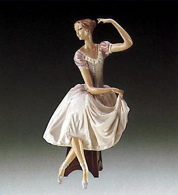 Weary Ballerina Lladro Figurine