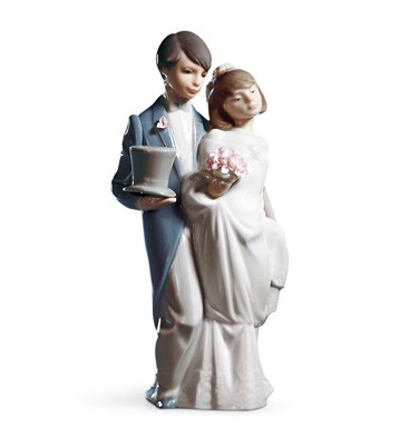 Wedding Bells Lladro Figurine