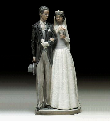 Wedding Day Lladro Figurine