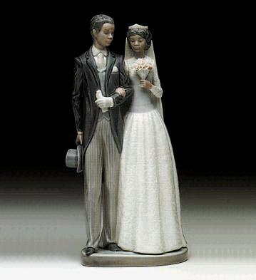 Wedding Day Lladro Figurine