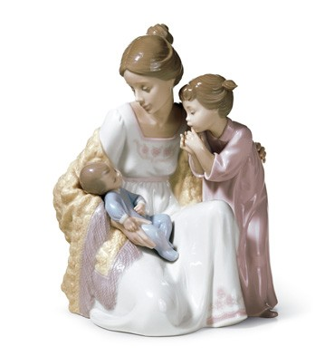 Welcome To The Family Lladro Figurine