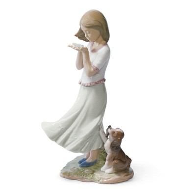Whispering Breeze Lladro Figurine