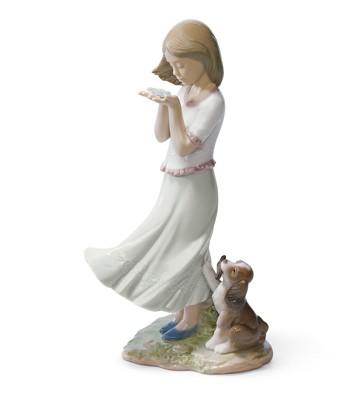 Whispering Breeze Lladro Figurine