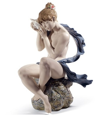 Whispers From The Sea Lladro Figurine