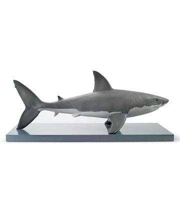 White Shark Lladro Figurine