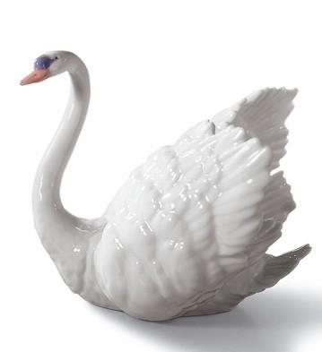 White Swan Lladro Figurine