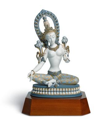 White Tara Lladro Figurine
