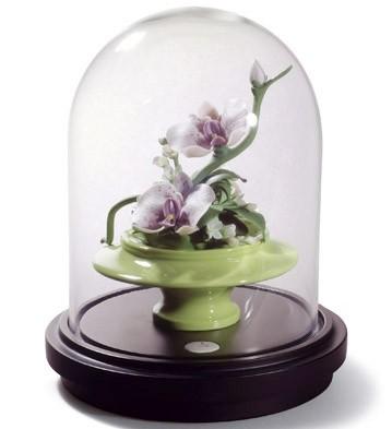 Wild Orchids Centerpiece Lladro Figurine