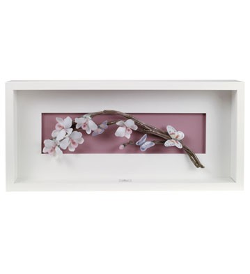 Wild Orchids - Wall Art Lladro Figurine