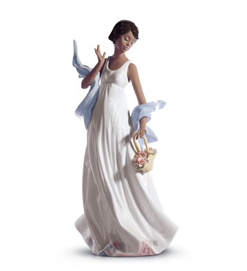 Winds Of Romance Lladro Figurine