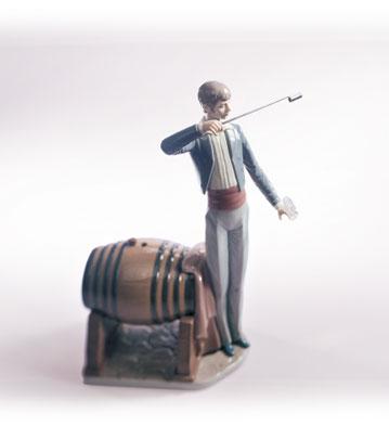 Wine Taster Lladro Figurine