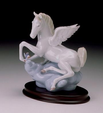 Winged Companions Lladro Figurine