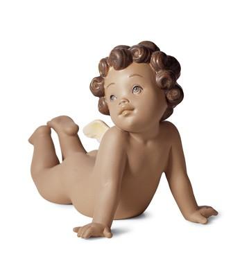 Winged Tenderness Lladro Figurine