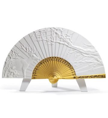 Winter Fan Lladro Figurine
