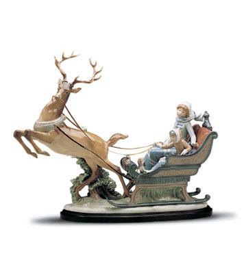 Winter Wonderland (b) Lladro Figurine