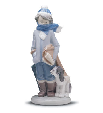 Winter Lladro Figurine