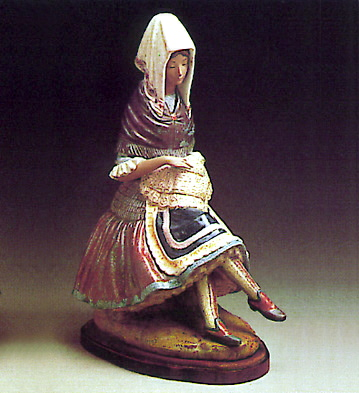 Woman -b- Lladro Figurine