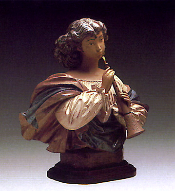 Woman With Mandolin -b- Lladro Figurine