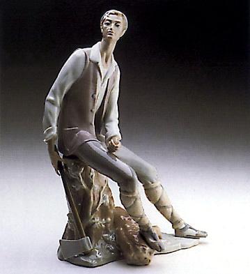 Woodcutter Lladro Figurine