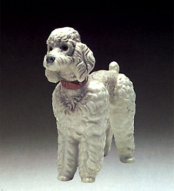Woolly Dog Lladro Figurine