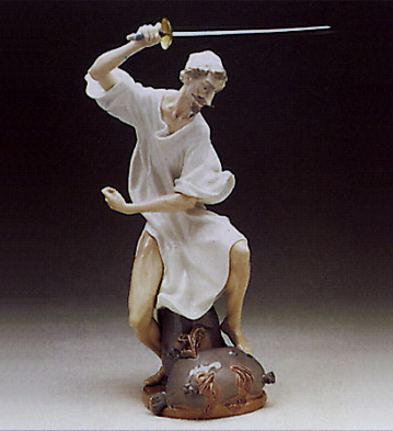 Wrath Of Don Quixote Lladro Figurine