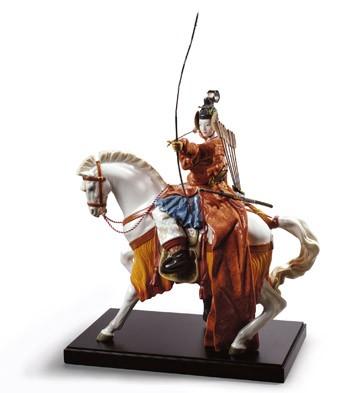 Yabusame Archer Lladro Figurine