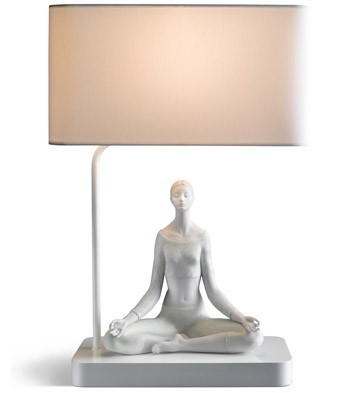 Yoga I - Lamp (us) Lladro Figurine