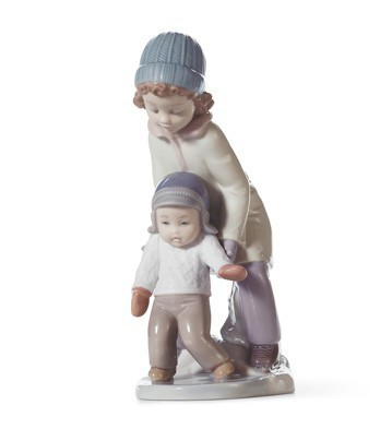 You Can Do It! Lladro Figurine