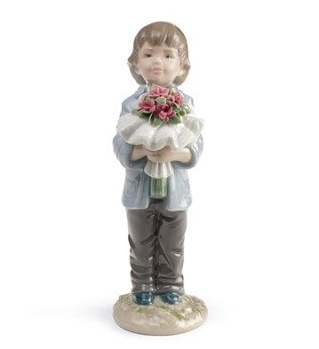 You Deserve The Best (boy) Lladro Figurine