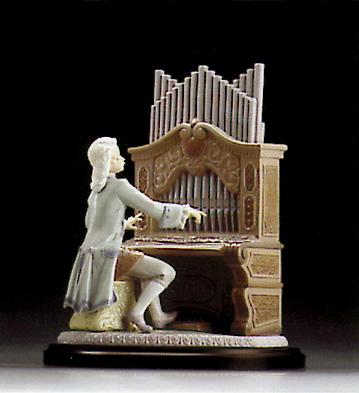 Young Bach (l.e.) (b) Lladro Figurine