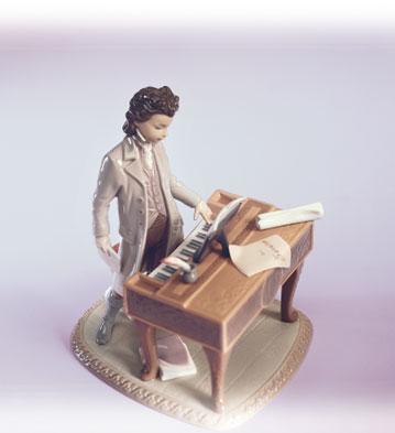 Young Beethoven Lladro Figurine