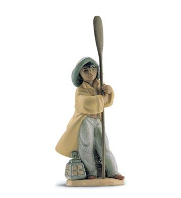 Young Fisherman Lladro Figurine