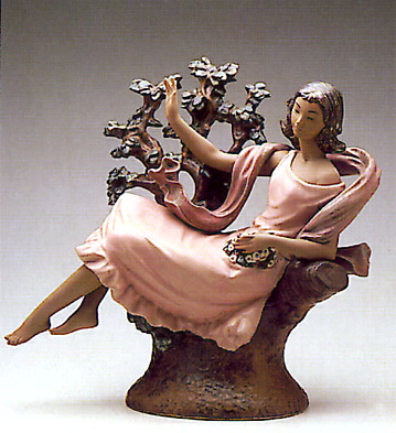 Young Girl Reclining Lladro Figurine