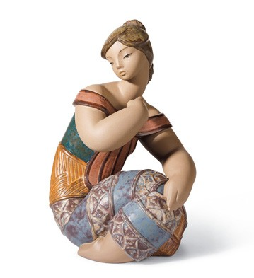 Young Indian Ii Lladro Figurine