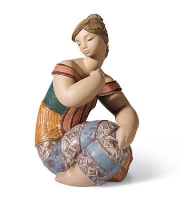 Young Indian Ii Lladro Figurine