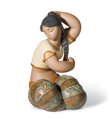 Young Indian Iii Lladro Figurine
