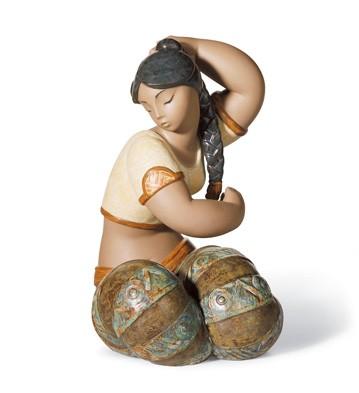 Young Indian Iii Lladro Figurine